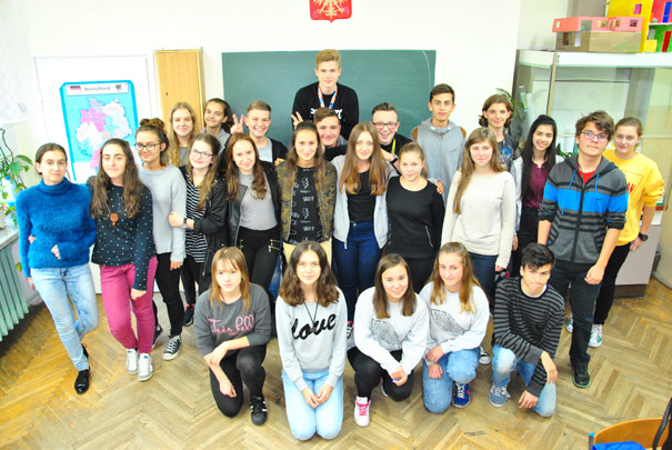 Erasmus-team - pupils
